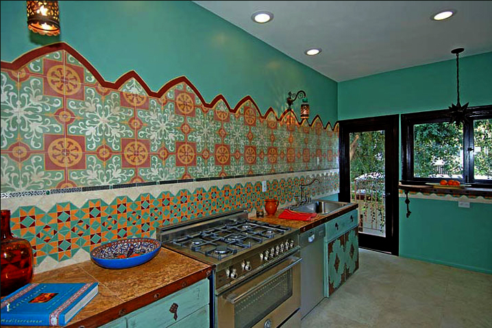 Moroccan Tile Kitchen60 Moroccan Tiles Los Angeles